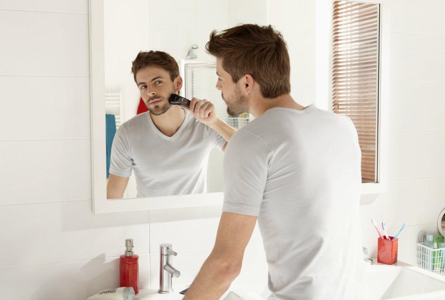 barba de 3 dias con recortadora de barba philips QT 4015-16