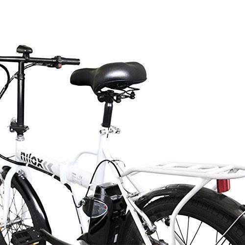 oferta bicicleta electrica plegable nilox x1 vista trasera