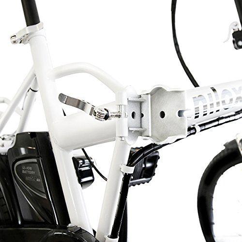 oferta bicicleta electrica plegable nilox x1pliegue cuadro