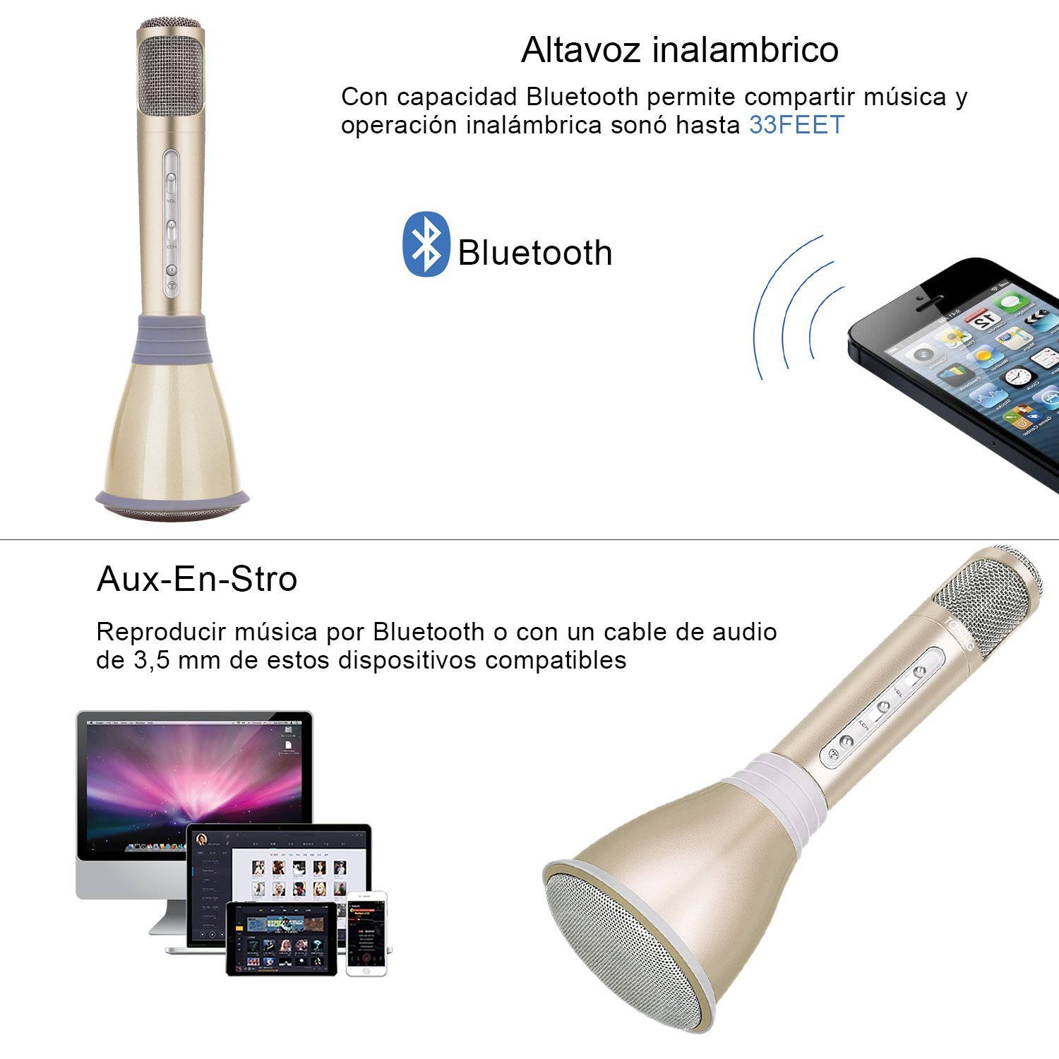 comprar microfono karaoke-chollo amazon