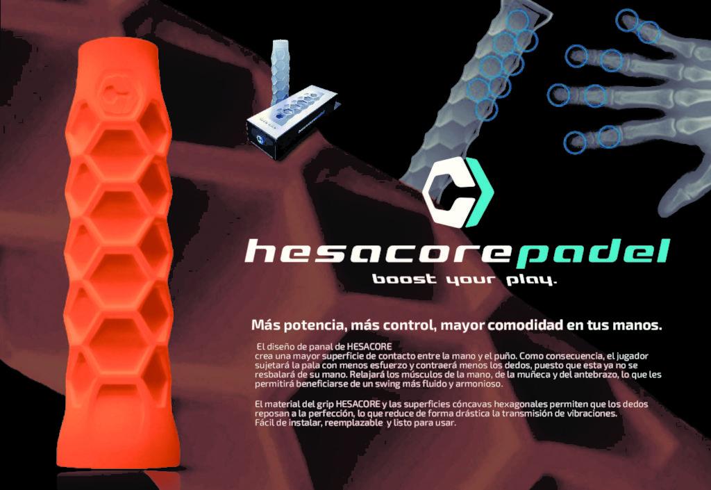 grip hesacore padel - ofertas amazon