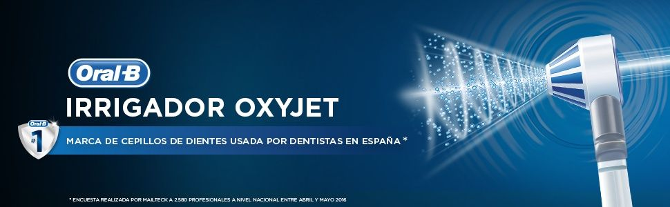irrigador dental oral b oxyjet -superchollos amazon