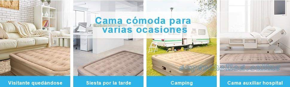 Oferta cama hinchable barata