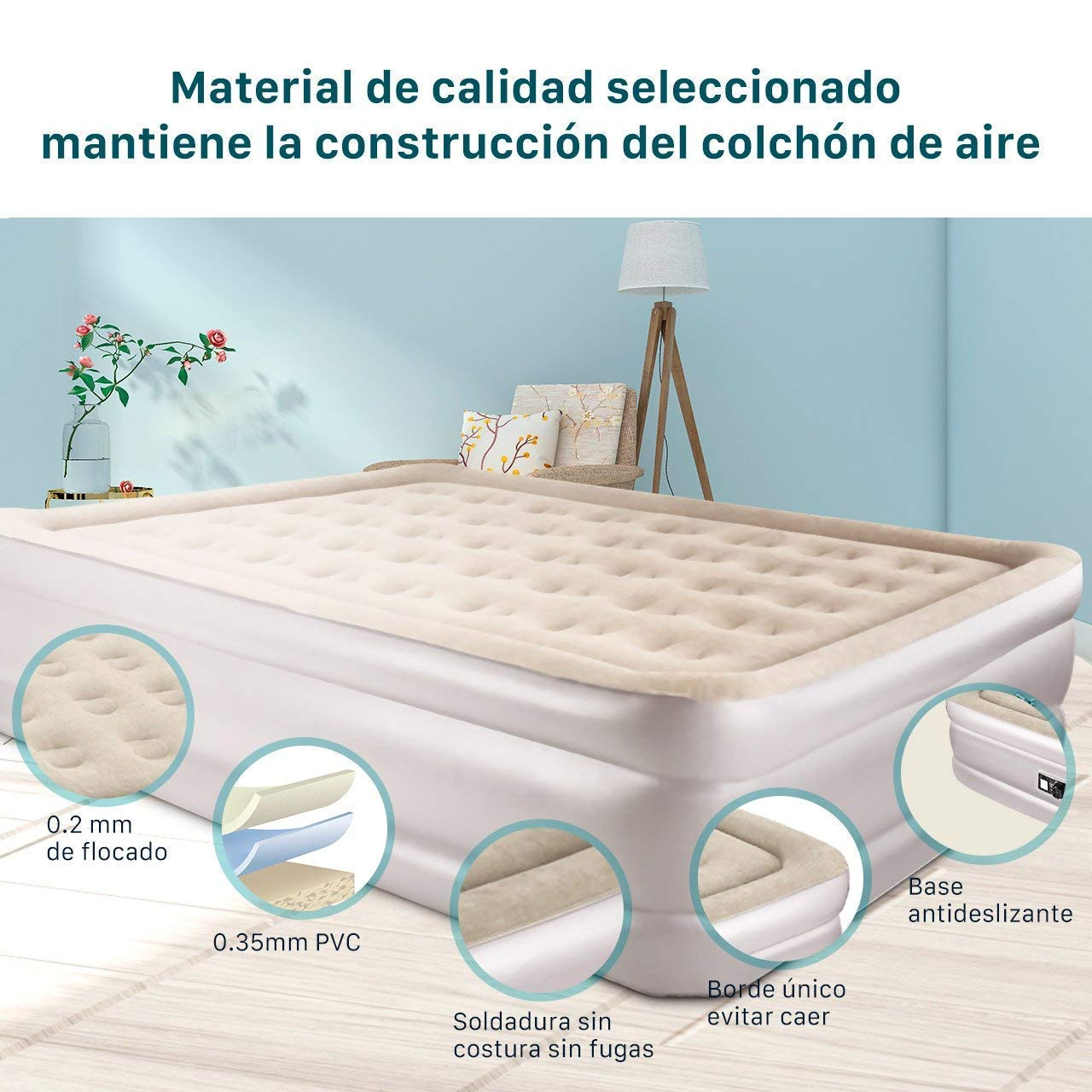 cama hinchable - colchon hinchable-super chollo amazon